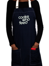 Load image into Gallery viewer, The Recycle Plastic Apron - Cooks Who Feed Inc