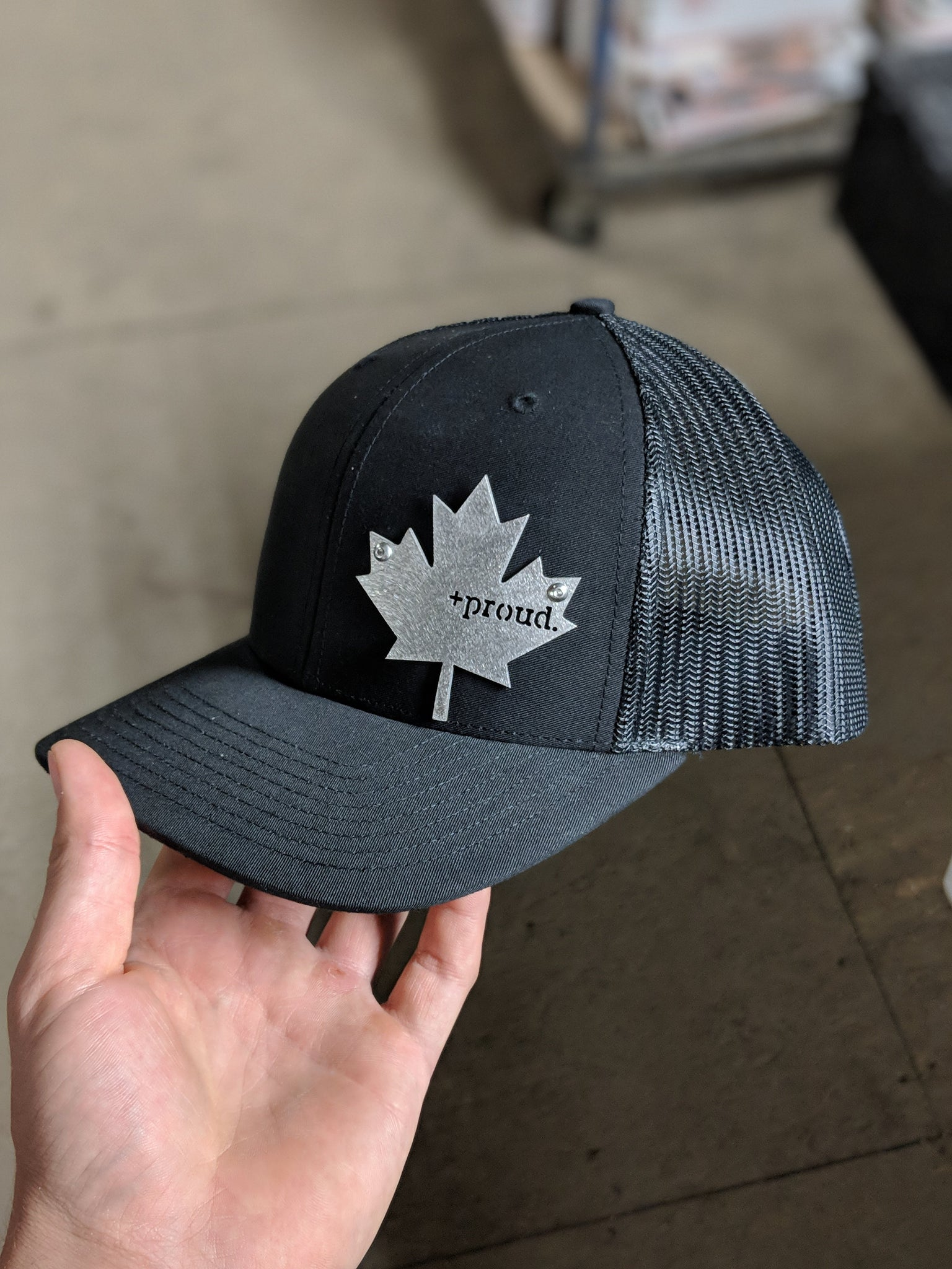 Canadian + Proud Stainless Steel HeadGear Hat
