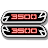 3500 LED Hood Emblem Replacements - Fits 2019+ Ram® 3500