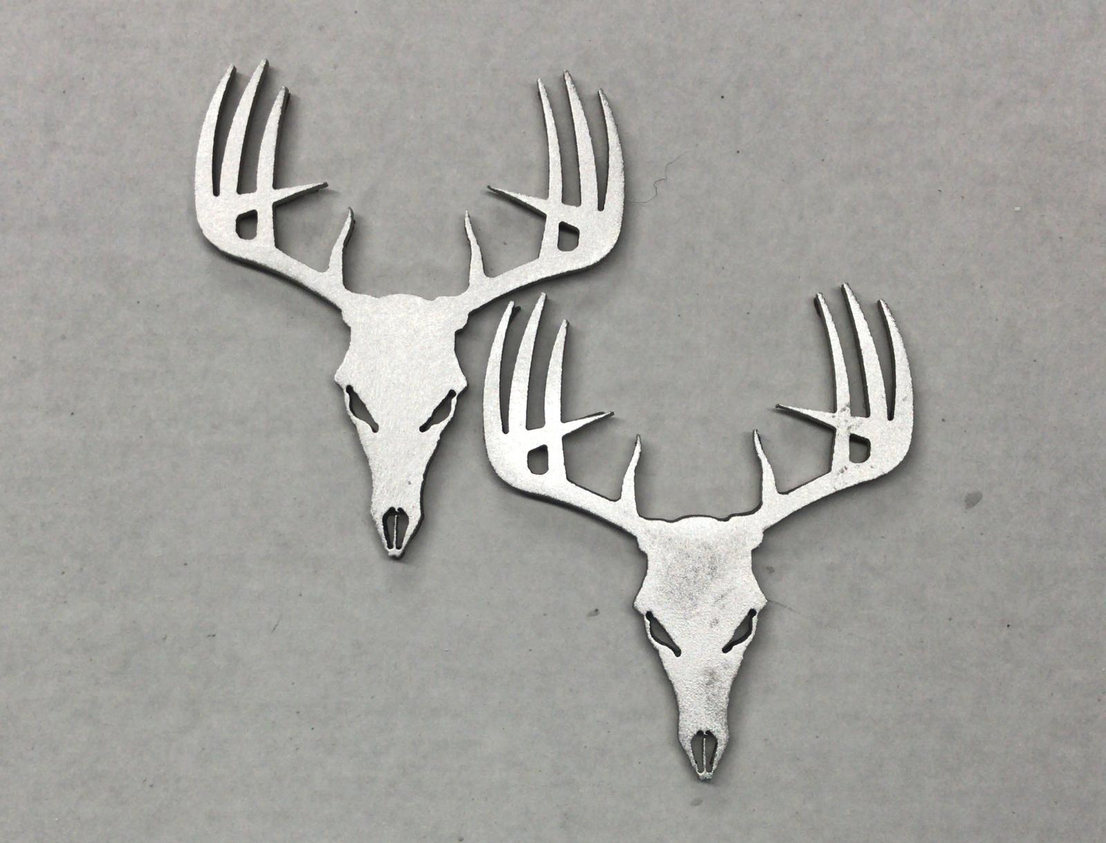 Deer Skull Fender Badge