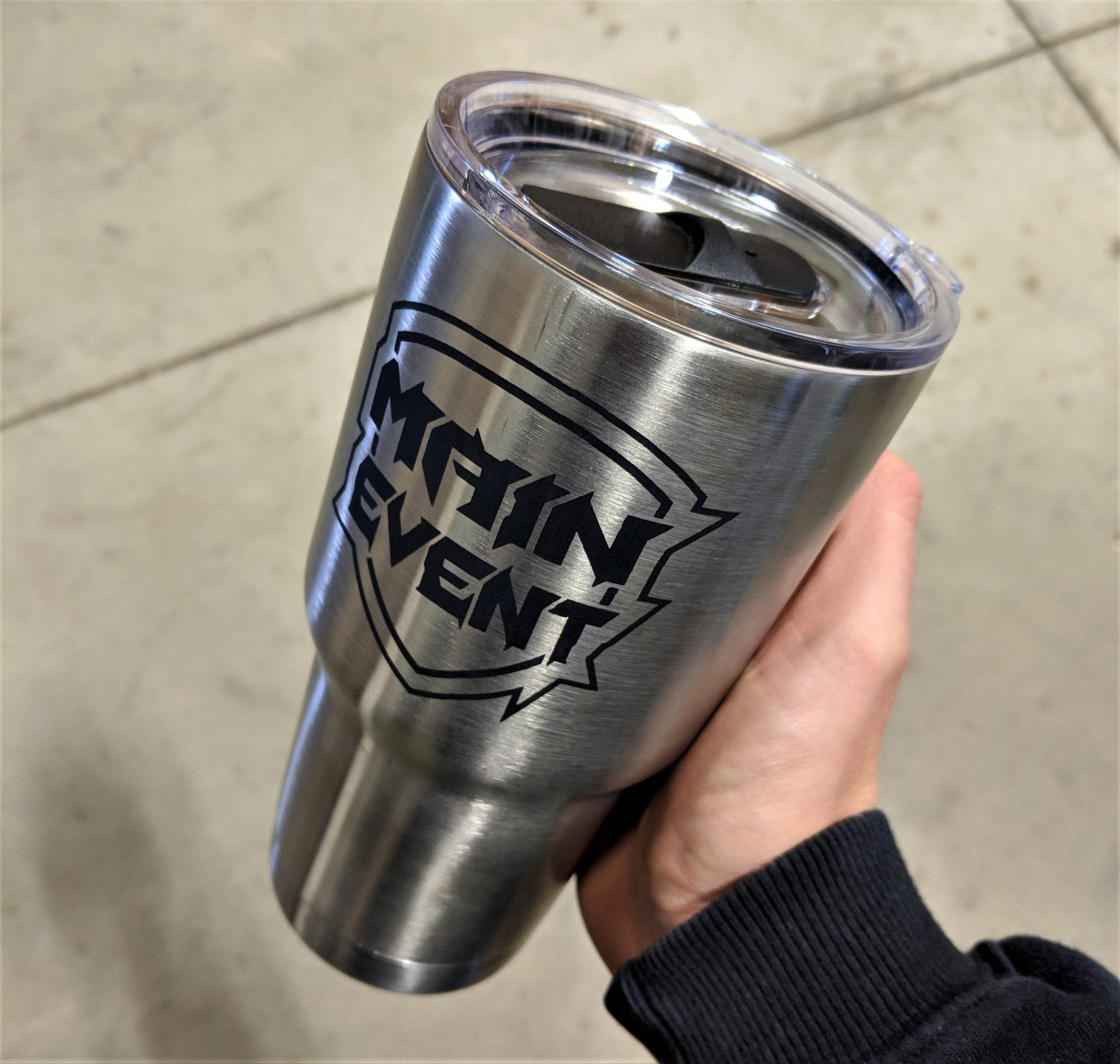Main Event Stainless Steel Tumbler