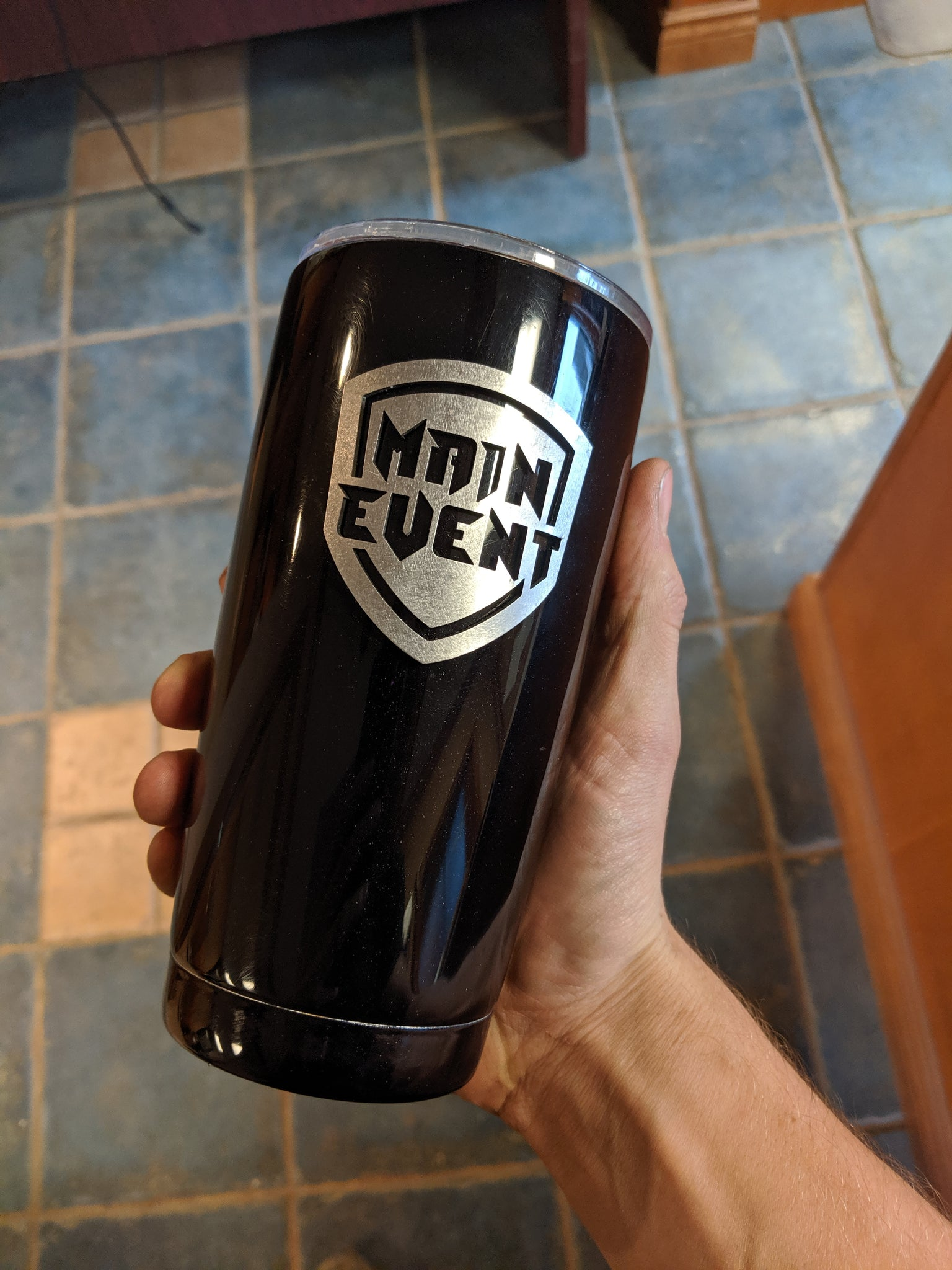 Custom Stainless Steel Tumbler - Your Text/Logo