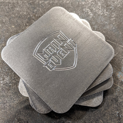 Main Event Stainless Steel Coasters