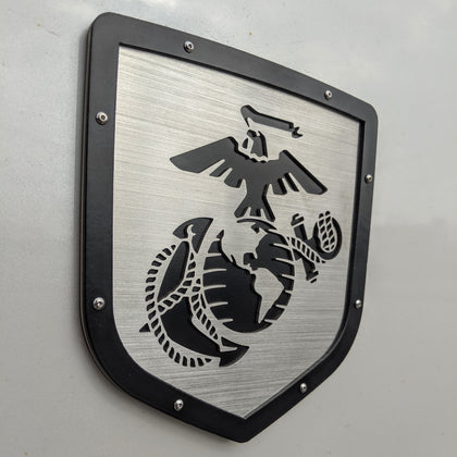 Ready to Ship - Marine Corps® Emblem w/Bolts - Fits 2009-2018 Ram® 1500, 2500, 3500