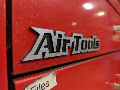 Custom Toolbox Drawer Emblems - Air Tools