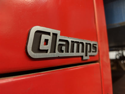 Custom Toolbox Drawer Emblems - Clamps