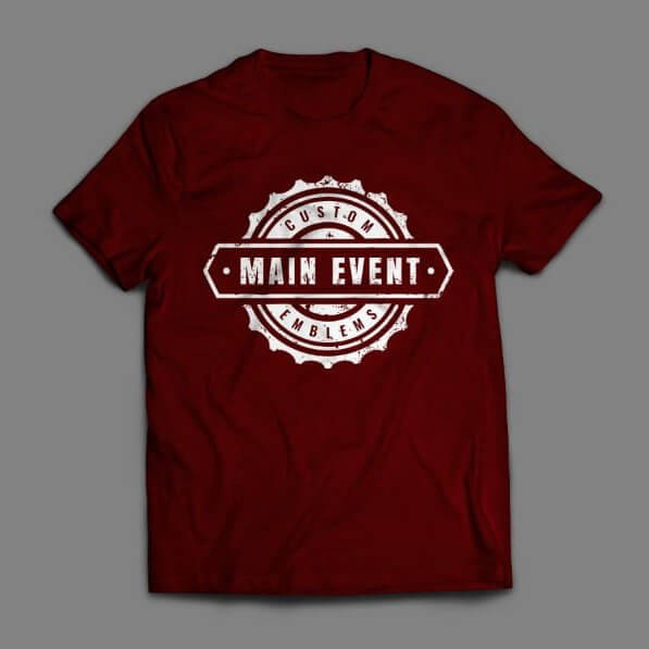 Main Event T-Shirt - Gear Design