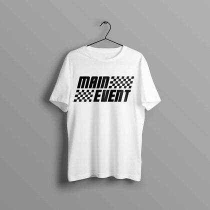 Premium Main Event Emblems Finish Line Tee