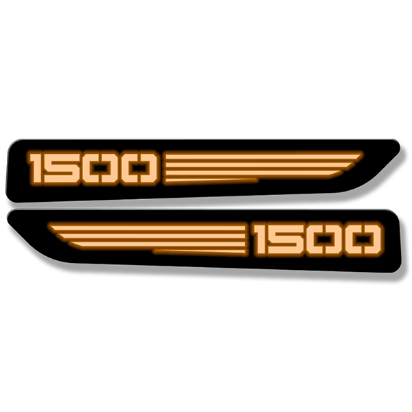 1500 Hood Badges - Illuminated - Fits 2019-2020 Ram 1500® Sport