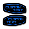 Side Fender Badge Replacements - Custom Text - Fits 2016-2020 Nissan Titan®