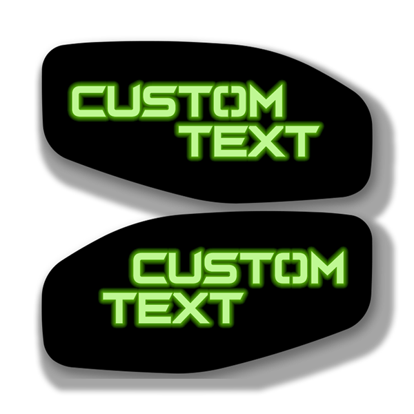LED Side Fender Badge Replacements - Custom Text - Fits 2016-2020 Nissan Titan®