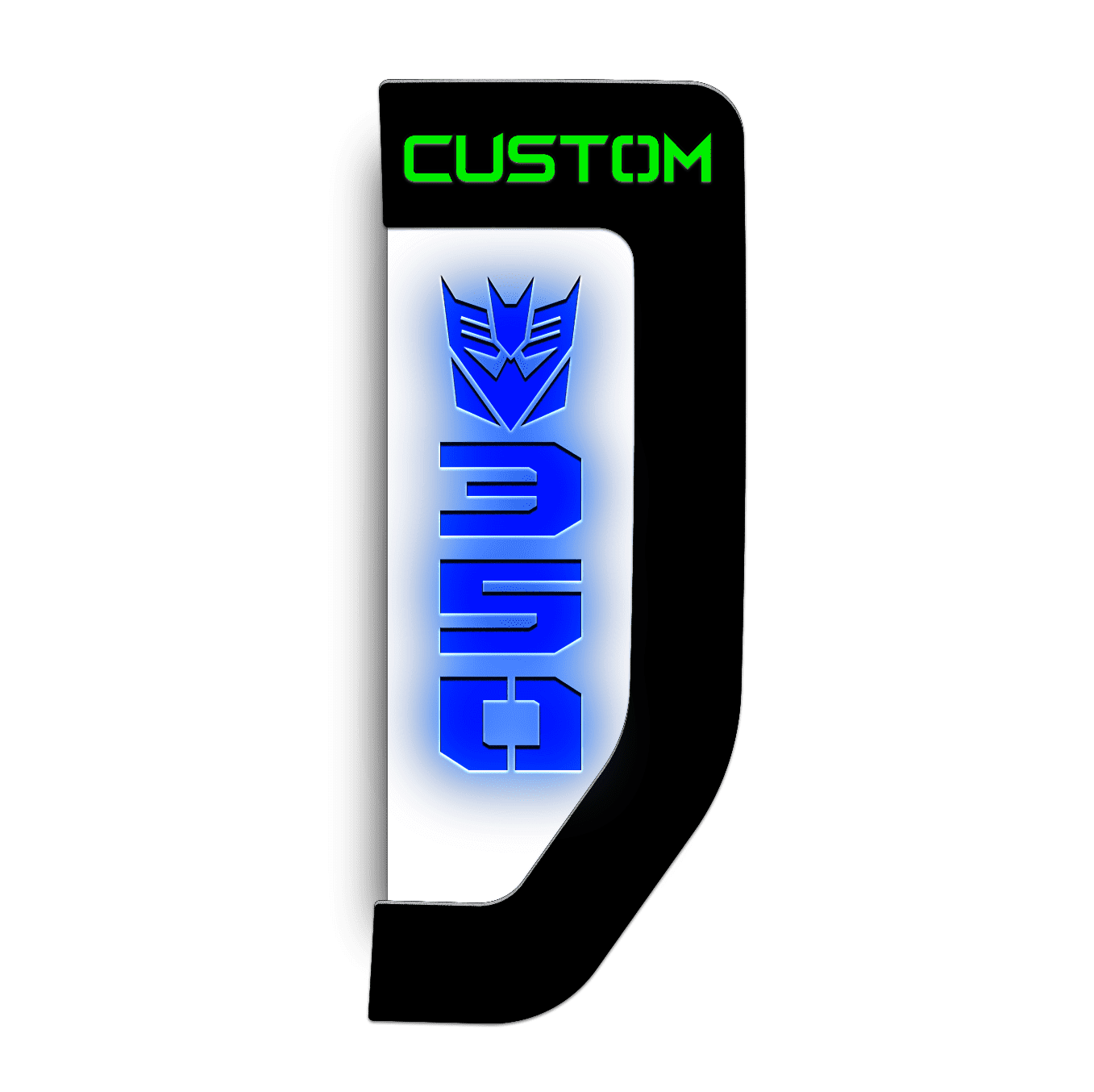 Fender Badge Replacements - Decepticon - Fits 2017+ Ford® Super Duty®
