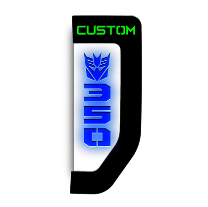 Illuminated 2017 F350 Custom fender badge