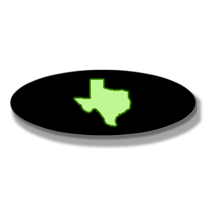 Texas Oval Replacement - Illuminated - 9