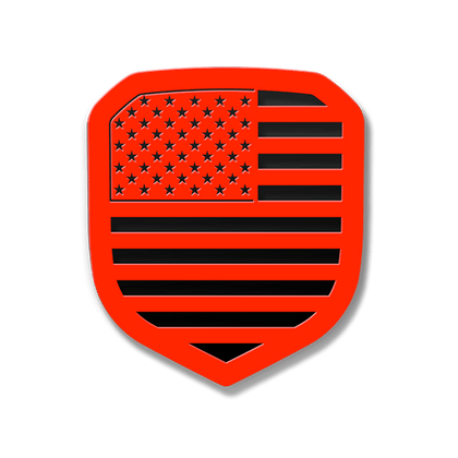 American Flag Grille Emblem - Full Flag (Fits 2013-2018 Ram®) - Customizable