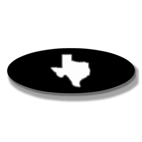 Texas Oval Replacement - Illuminated - Fits 2015-2019 F150® Grille or Tailgate