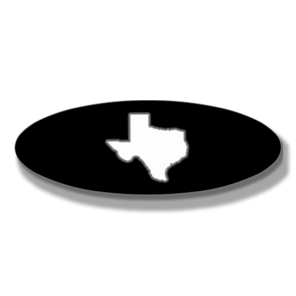 Texas Oval Replacement - Illuminated - Fits 2017+ Ford® Super Duty®