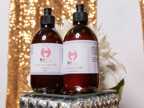 IrvMika's Hydrating Shampoo and Conditioner