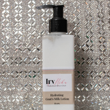 IrvMika Hydrating Goat Milk Lotion Bottle