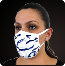 pleated sustainable PPE reusable Protective Face Mask