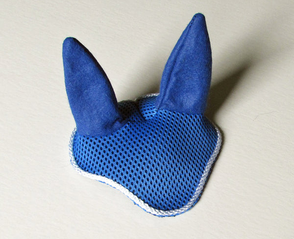 Ear bonnet blue