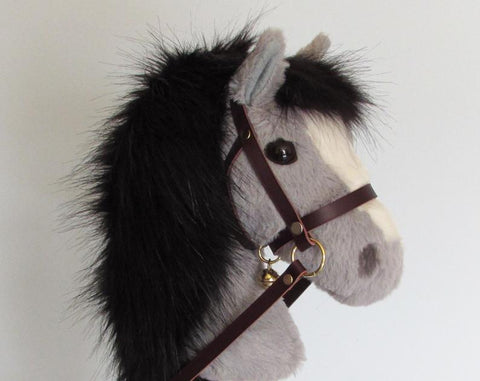 Grey hobby horse - for ages 1-4