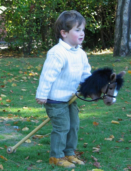 Palomino hobby horse - for ages 1-4