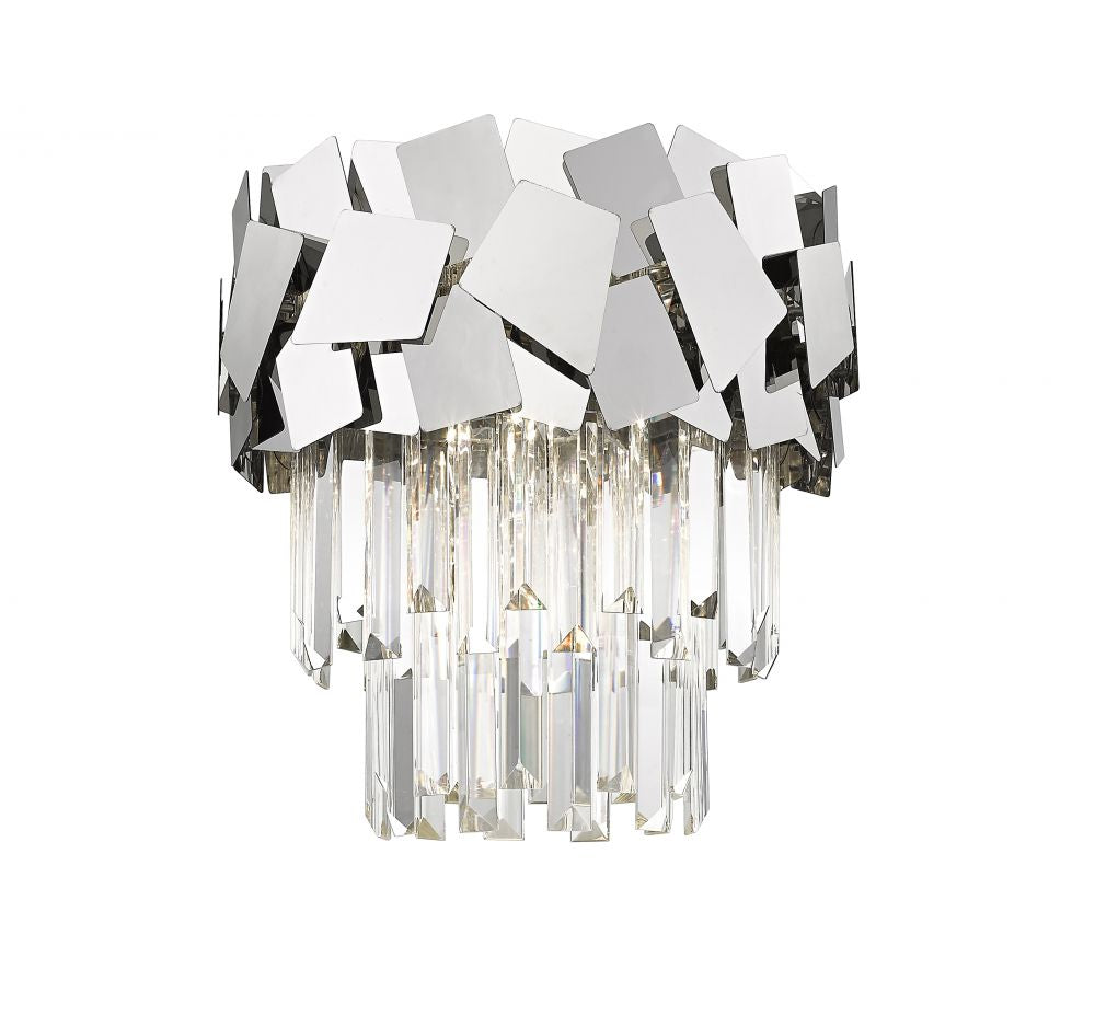 Metro Crystal Semi Flush