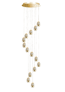 Harlow Large Cluster Pendant