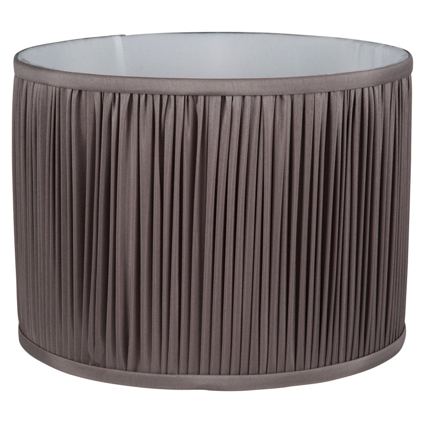 Luna Grey Pleated Shade
