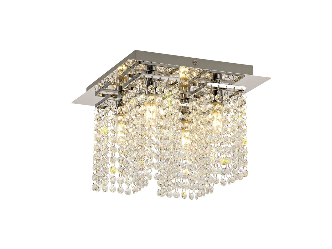 Marina Crystal Semi Flush
