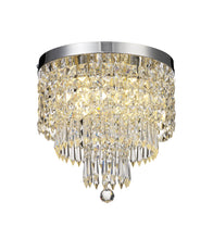 Load image into Gallery viewer, Neva Crystal Semi Flush