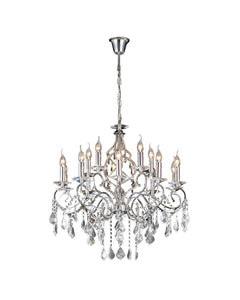Angeline XL Crystal Chandelier
