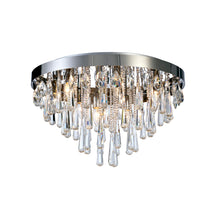 Load image into Gallery viewer, Bella Crystal Semi Flush