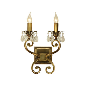 Venetian Twin Wall Light