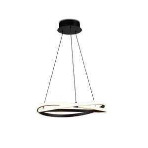 Eternity Brown LED Pendant