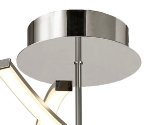 Lyra LED Semi Flush