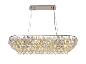 Skye Crystal Oblong Light
