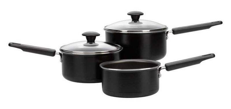 Quick & Easy Non-Stick 3 Piece Pan Set