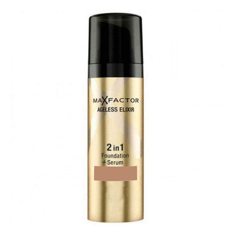Ageless Elixir 2 In 1 Foundation And Serum Bronze Multicolour