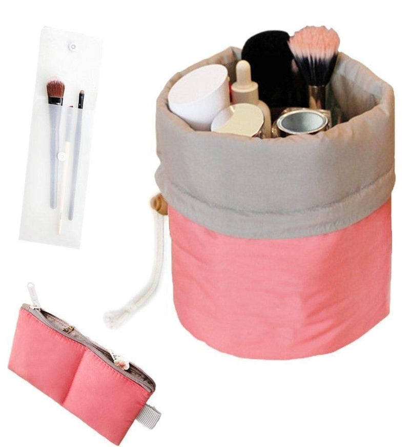 Makeup Bag Organizer Pink