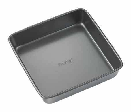 "Non-Stick 8"" Square Cake Tin-0.8Mm"