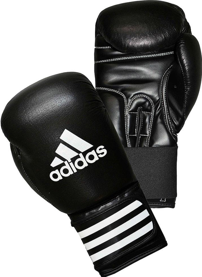 Adidas Performer Leather Boxing Gloves Black