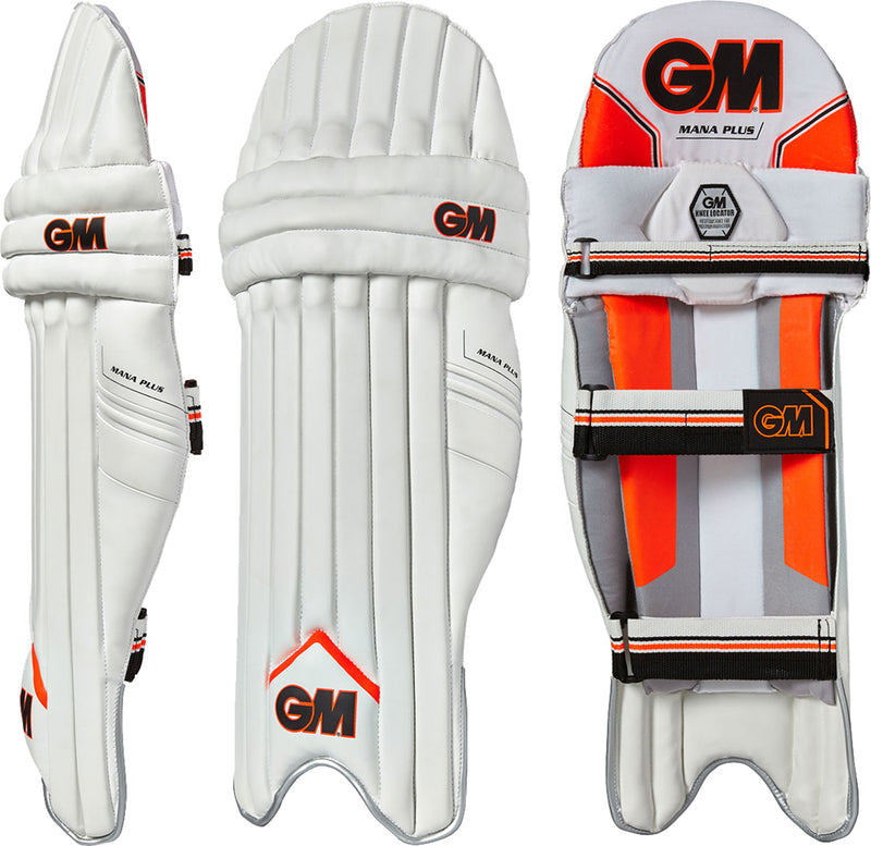 GM Mana Plus Cricket Batting Pads Large RH