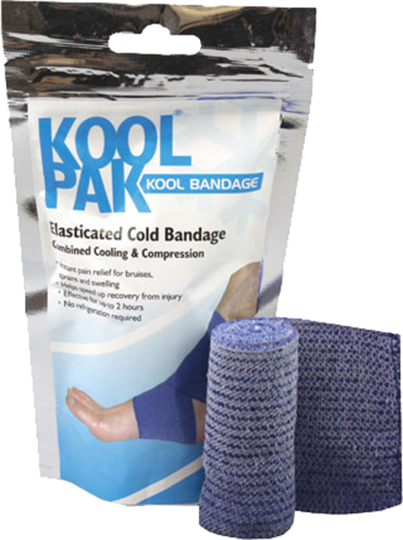Koolpak Elasticated Cold Bandage 7.5cm x 2m