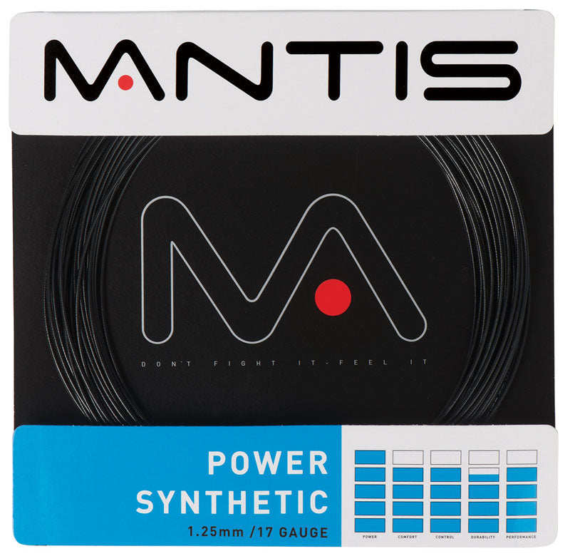 MANTIS Power Synthetic String Set Black