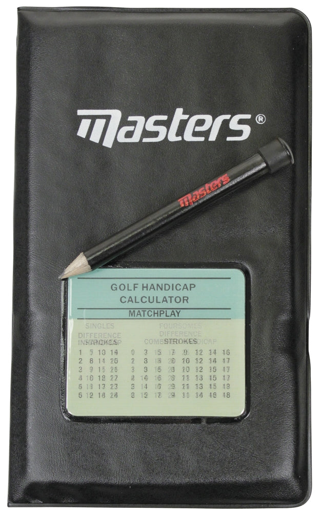 Masters Golf Sports Deluxe Score Card Holder