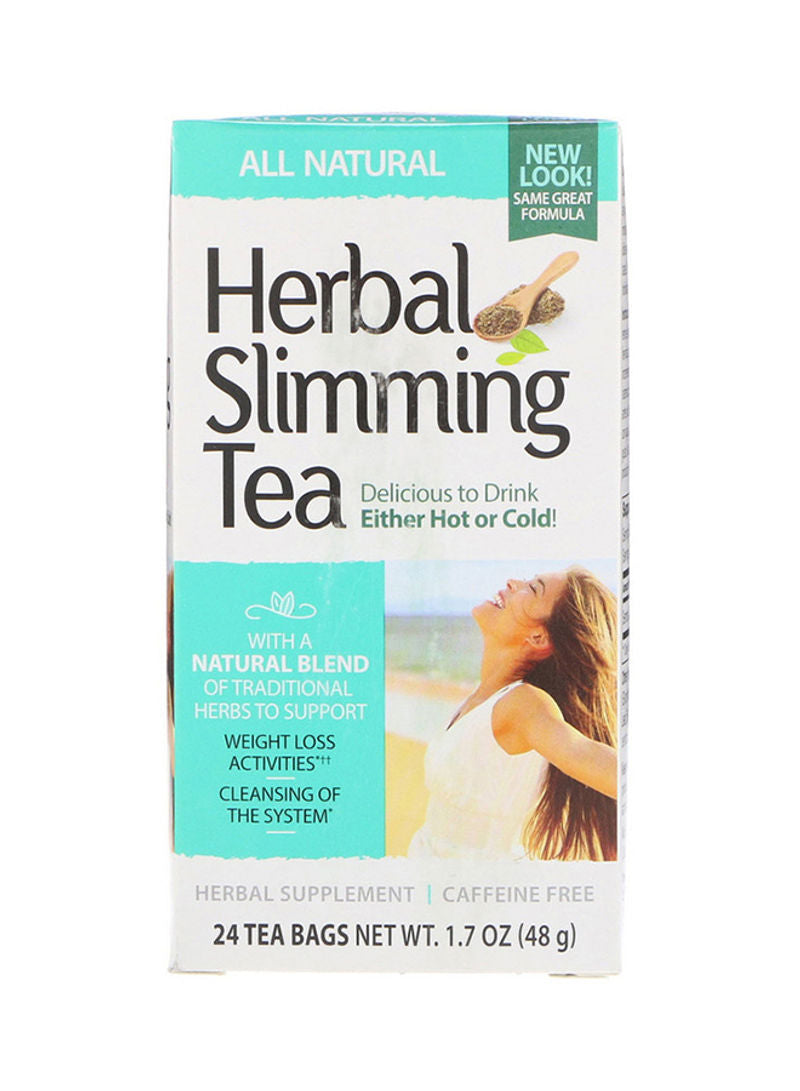21st CENTURY Natural Herbal Slimming Tea 24 Tea Bags