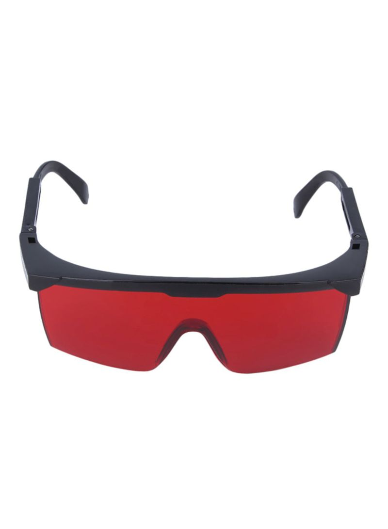 Semi-Rimless Shield Laser Safety Glasses