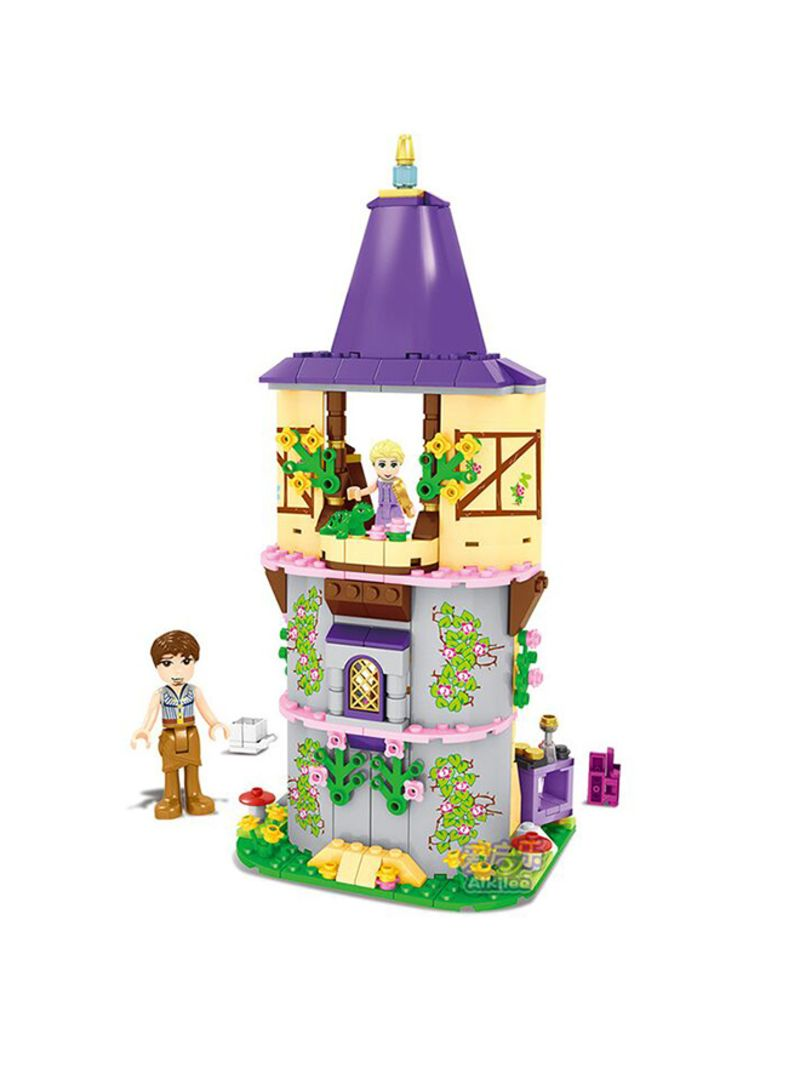 Generic Cinderella Castle Carriage Princess Series Rapunzel Tower Building Blocks